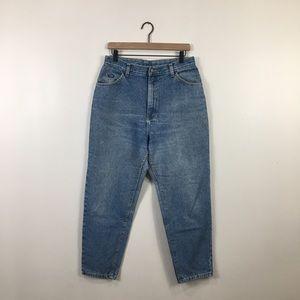 Vintage Plus Size High Rise Mom Jeans